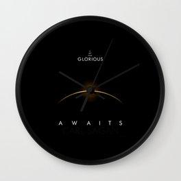 A Glorious Dawn Wall Clock