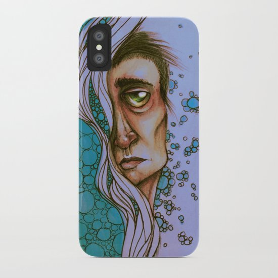 Floating On By iPhone Case