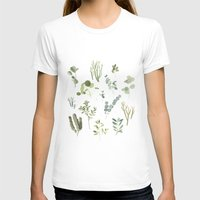 plants T-shirts featuring Plants  by Maggie Chiang