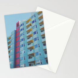 San Francisco Building Color Palate Stationery Cards