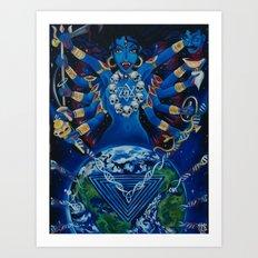 Kali Awakens Art Print