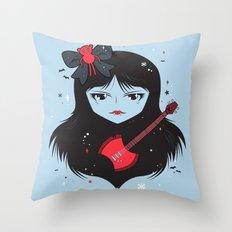 Kawaii Vampire Throw Pillow