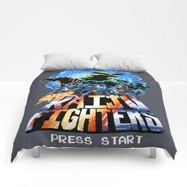 Super Kaiju Fighters Comforters