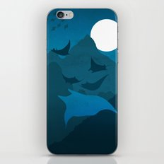 No Memory of the Fliers in the Night iPhone & iPod Skin