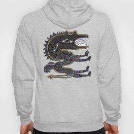 decorative surreal dragon Hoody