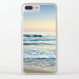 Serenity sea. Vintage Clear iPhone Case