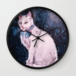 My Cat is Evil Pt. 2 Wall Clock