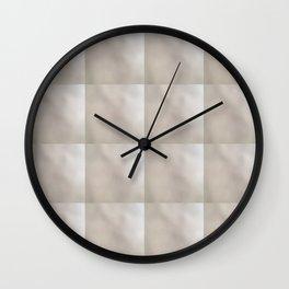 Accidental Art Tile Design Wall Clock