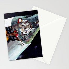 Gemini Spacecraft Diagram Stationery Cards