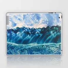 Fantasy Turquoise and Teal Landscape Laptop & iPad Skin