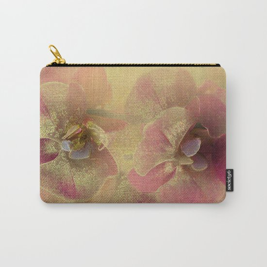 The mystery of orchid(gold). Carry-All Pouch