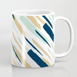 Diagonal strokes Coffee Mug