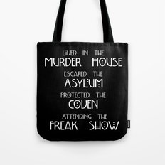 American Horror Story Four Seasons Tote Bag
