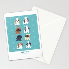 Shih Tzus Stationery Cards