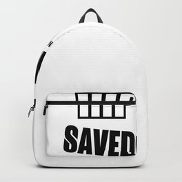 Hiphop Rap text cool spell Backpack