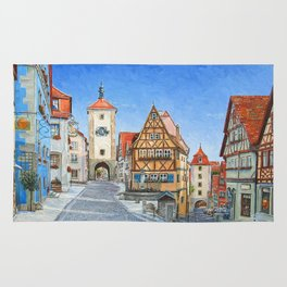Rothenburg Germany Rug