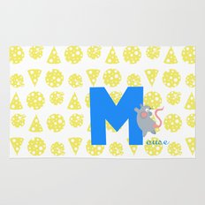m for mouse Rug