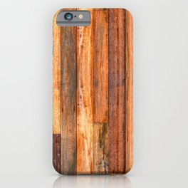 Rustic Texture - Natural vintage decorative material for your home iPhone Case