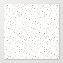 Forest Confetti Canvas Print
