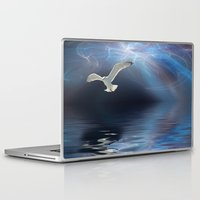 storm Laptop & iPad Skins featuring Storm by CreativeByDesign