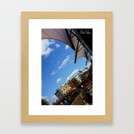 Camden Town London  Framed Art Print