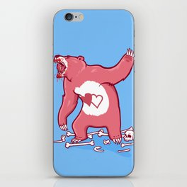 Terror Bear iPhone Skin