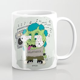 BOOM BOX FINK Coffee Mug