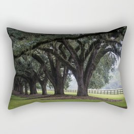 Tree Arch Drive Rectangular Pillow