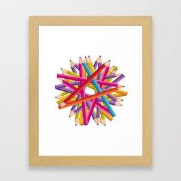 Starcolors Framed Art Print