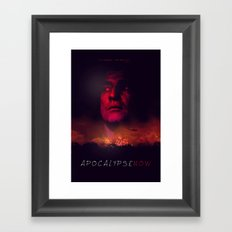 Apocalypse Now Poster Framed Art Print
