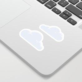 Fluffy clouds Sticker