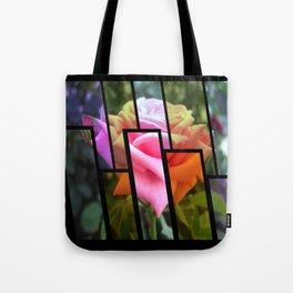 Pink Roses in Anzures 6 Tinted 1 Tote Bag