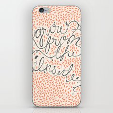 Grow From The Inside iPhone & iPod Skin