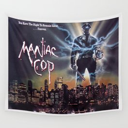 Maniac Cop 1988 Wall Tapestry