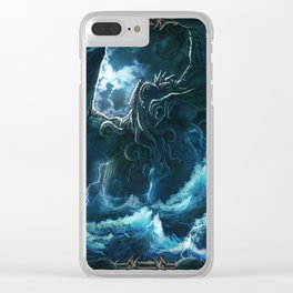 The Call of Cthulhu Clear iPhone Case