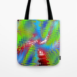 vibrating colors Tote Bag