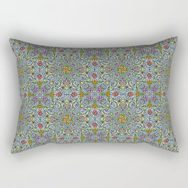 Fruits and Veggies - cute healthy food pattern Rectangular Pillow