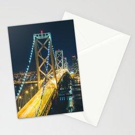 Bay Bridge Long Exposure - San Francisco, California Stationery Cards