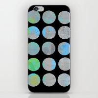 dots iPhone & iPod Skins featuring Dots  by LebensARTdesign