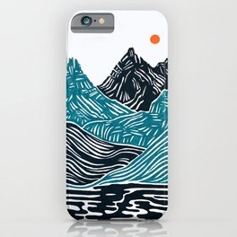 ABSTRACTED LANDSCAPE iPhone Case