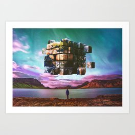 A Complicated Puzzle Art Print