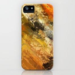 Fire's colors iPhone Case
