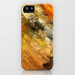 Fire's colors iPhone Case