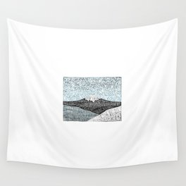 'JaPow' by Sarah King  Wall Tapestry