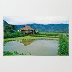 Mountain Village in Vietnam Rug
