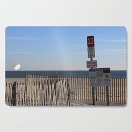 Beach Closed Cutting Board