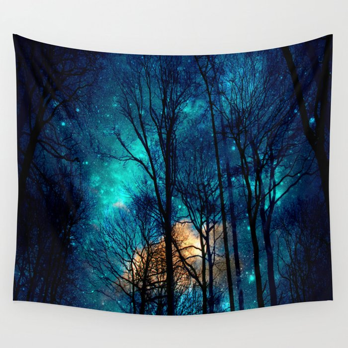 Starry Night Wall Tapestry By Haroulita Society6