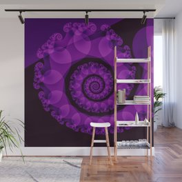Rolling Spiral Wall Mural