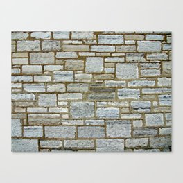 Another Stone In The Wall. Canvas Print