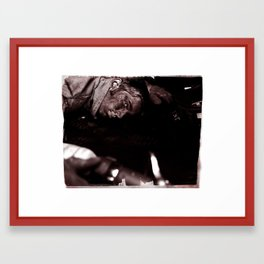 this is a selfish self-awareness, chapter 2 (part 1) Framed Art Print